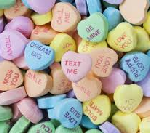 Valentine Candies Hearts 1