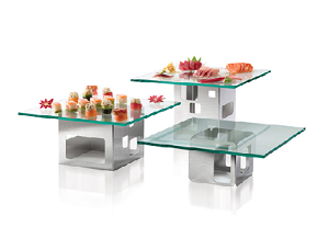 Three Tier Buffet Risers
