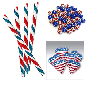 Red-White-And-Blue-Candies