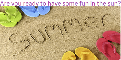 Summer Fun Ideas Header Pic