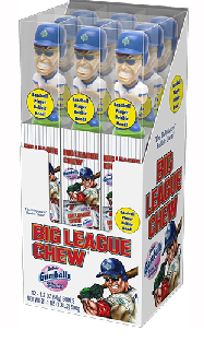 Big League Bobblehead Gum