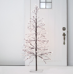 Lighted Artificial Tree