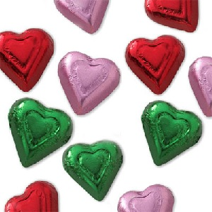 Chocolate Heart Candy